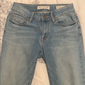 PacSun Bullhead skinny jeans - light blue.